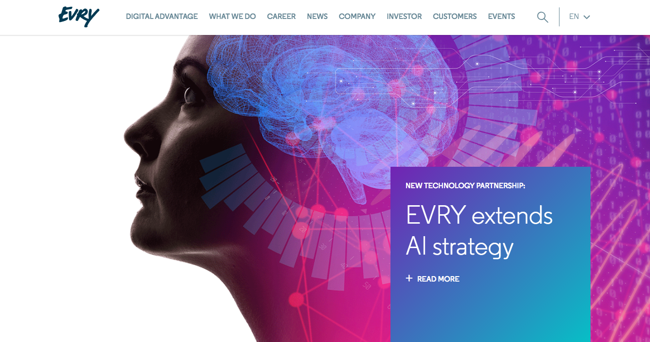 EVRY Wins $75 Million Contract