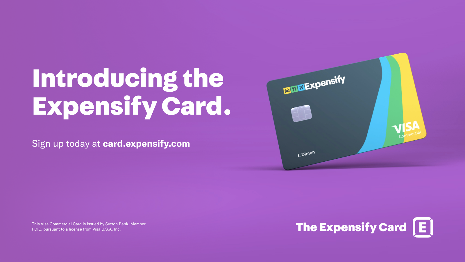 Expensify Combines Spending Controls and Expense Tracking with New Corporate Card